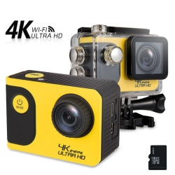 4K Waterproof Sports Action Camera With WiFi